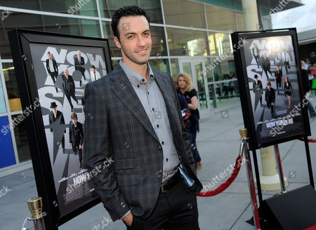 "Actor Reed Scott poses at the Los Angeles special screening of the film ""Now You See Me"" at the ArcLight Hollywood on in Los Angeles"