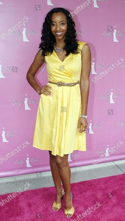 Stock Image of Single Mom Planet founder Neferteri Shepherd attends Lady Like Foundation 5TH Annual Women of Excellence Awards on at Luxe Sunset Boulevard Hotel in Los Angeles, California