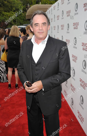 Tom Irwin arrives at Lifetime's Devious Maids Premiere Party, on in Pacific Palisades, Calif