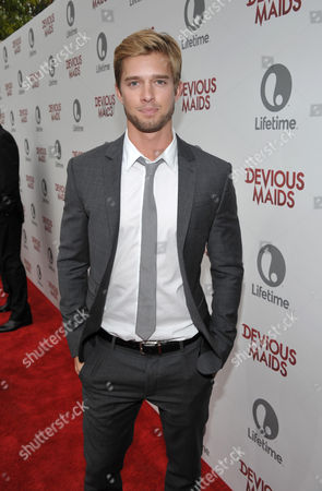 Drew Van Acker arrives at Lifetime's Devious Maids Premiere Party, on in Pacific Palisades, Calif