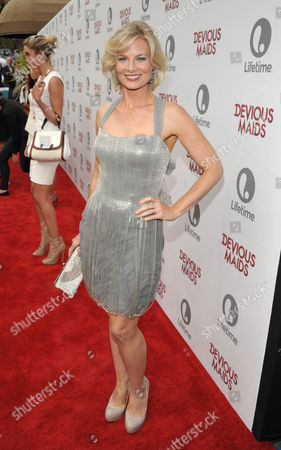 Melinda Page Hamilton arrives at Lifetime's Devious Maids Premiere Party, on in Pacific Palisades, Calif