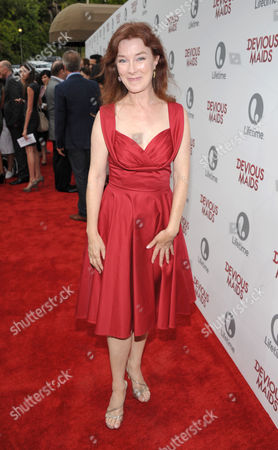 Valerie Mahaffey arrives at Lifetime's Devious Maids Premiere Party, on in Pacific Palisades, Calif