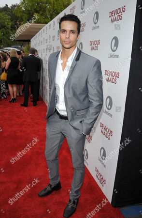 Matt Cedeno arrives at Lifetime's Devious Maids Premiere Party, on in Pacific Palisades, Calif