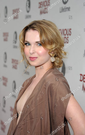 Kirsten Prout arrives at Lifetime's Devious Maids Premiere Party, on in Pacific Palisades, Calif