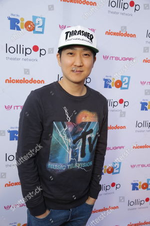 "Tim Jo seen at Lollipop Theater Network's ""A Night Under the Stars"" at Nickelodeon Animation Studios, in Burbank, CA"