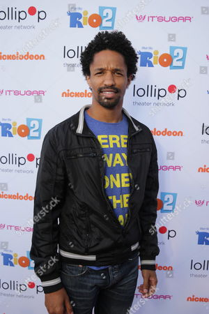 """Craig Frank seen at Lollipop Theater Network's """"A Night Under the Stars"""" at Nickelodeon Animation Studios, in Burbank, CA"""