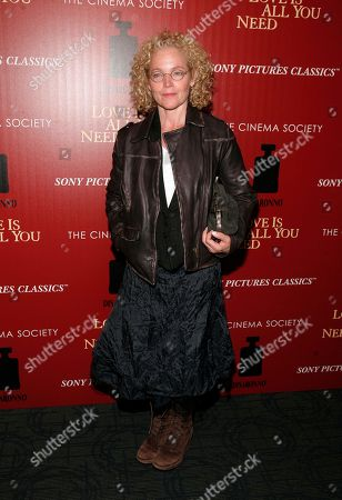 """Actress Amy Irving attends a screening of """"Love Is All You Need"""" presented by The Cinema Society & Disaronno on in New York"""