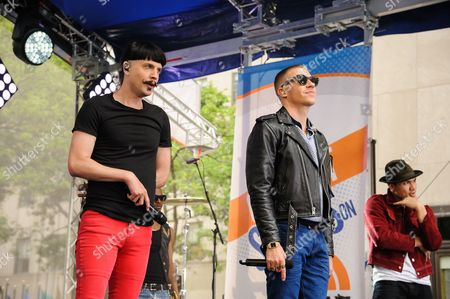 Editorial picture of Macklemore and Ryan Lewis Perform on NBC's Today Show, New York, USA