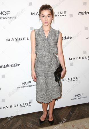 Ava Deluca-Verley seen at the Marie Claire Fresh Faces Party, on in West Hollywood, California