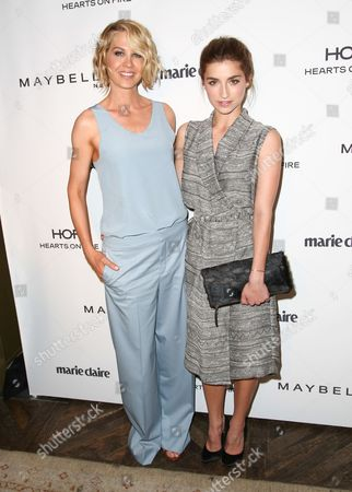 Jenna Elfman and Ava Deluca-Verley seen at the Marie Claire Fresh Faces Party, on in West Hollywood, California