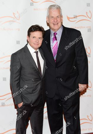 Editorial photo of Michael J. Fox Foundation Benefit, New York, USA