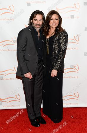 "Chef Rachael Ray and husband John Cusimano attend ""A Funny Thing Happened on the Way to Cure Parkinson's"", to benefit The Michael J. Fox Foundation for Parkinson's Research, at the Waldorf Astoria, in New York"