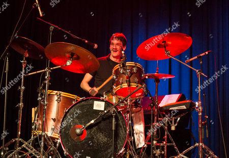 Cody Dickinson with North Mississippi Allstars perform at Buckhead Theatre, in Atlanta