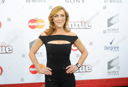 "Andrea McArdle attends the world premiere of ""Annie"" at the Ziegfeld Theatre, in New York"