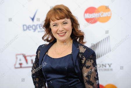 """Stock Picture of Actress Aileen Quinn, the original Annie from the 1982 film, attends the world premiere of """"Annie"""" at the Ziegfeld Theatre, in New York"""