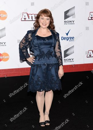 """Actress Aileen Quinn, the original Annie from the 1982 film, attends the world premiere of """"Annie"""" at the Ziegfeld Theatre, in New York"""