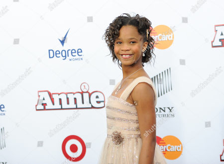 "Editorial picture of NY Premiere of ""Annie"" - Arrivals, New York, USA"