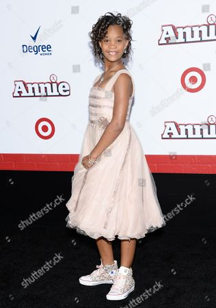 "Editorial image of NY Premiere of ""Annie"" - Arrivals, New York, USA"