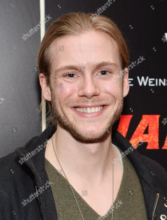 """Actor Zach Booth attends the premiere of """"Jane Got A Gun"""" at The Museum of Modern Art, in New York"""