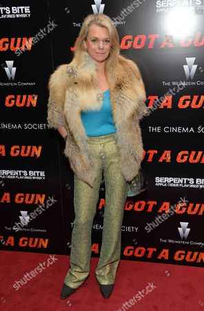 """Debbie Bancroft attends the premiere of """"Jane Got A Gun"""" at The Museum of Modern Art, in New York"""