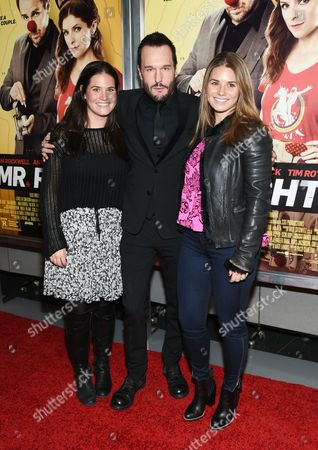 """Actor Michael Eklund and guests attend the premiere of """"Mr. Right"""" at AMC Lincoln Square, in New York"""