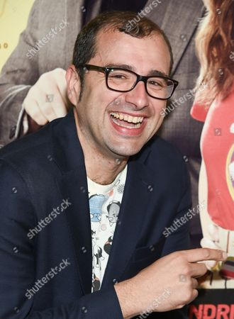 """Director Paco Cabezas attends the premiere of """"Mr. Right"""" at AMC Lincoln Square, in New York"""