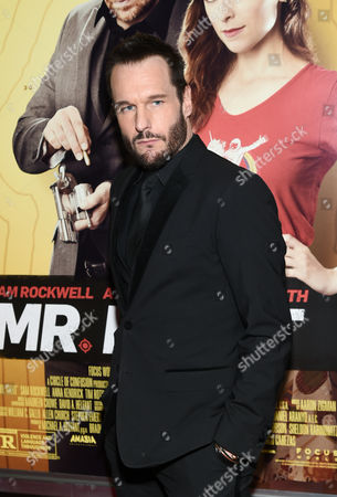 """Actor Michael Eklund attends the premiere of """"Mr. Right"""" at AMC Lincoln Square, in New York"""
