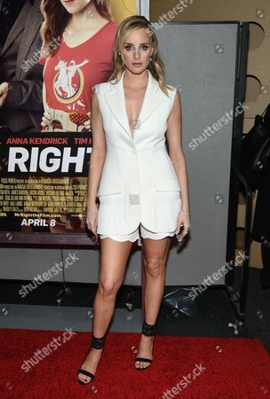 "Actress Katie Nehra attends the premiere of ""Mr. Right"" at AMC Lincoln Square, in New York"