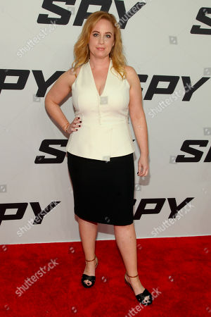 """Jessica Chaffin attends the premiere of """"Spy"""" at AMC Loews Lincoln Square, in New York"""