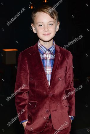 "Actor Jaeden Leiberher attends the ""St. Vincent"" premiere at the Ziegfeld Theatre, in New York"