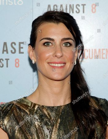"""Producer Lilly Hartley attends a screening of """"The Case Against 8"""", in New York"""