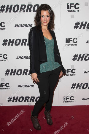 """Jessica Blank attends a special screening of """"#Horror"""" at The Museum of Modern Art, in New York"""
