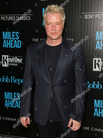 "Chris Botti attends the special screening of ""Miles Ahead"" at Metrograph, in New York"