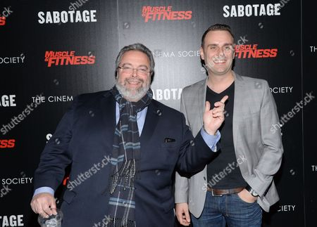 """Editorial picture of NY Special Screening of """"Sabotage"""", New York, USA"""