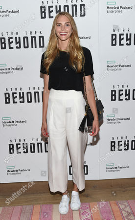 """Dani Seitz attends a special screening of """"Star Trek Beyond"""" at the Crosby Street Hotel, in New York"""