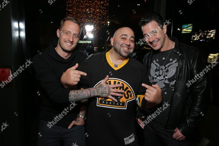 Editorial photo of Open Road Films CHEF Screening hosted by Jon Favreau and Roy Choi, Los Angeles, USA