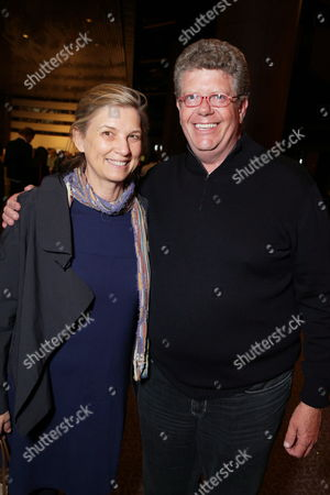 Chef Mary Sue Milliken and Chef Jimmy Shaw seen at Open Road Films CHEF Screening hosted by Jon Favreau and Roy Choi at Directors Guild of America, in Los Angeles, CA