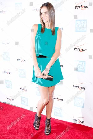 Ana Alexander arrives at the Peace Over Violence Humanitarian Awards at the Beverly Hills Hotel, in Beverly Hills, Calif