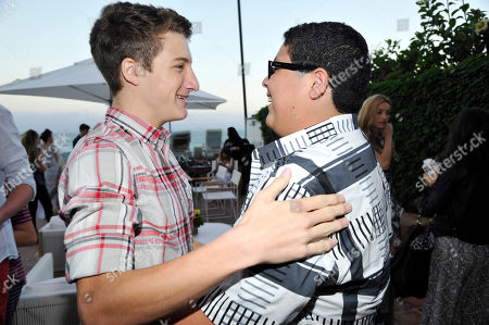 Jake Short and Rico Rodriguez seen at Peyton List Hosts a Private Party at the Infinity Audio Beach House, in Malibu, Calif
