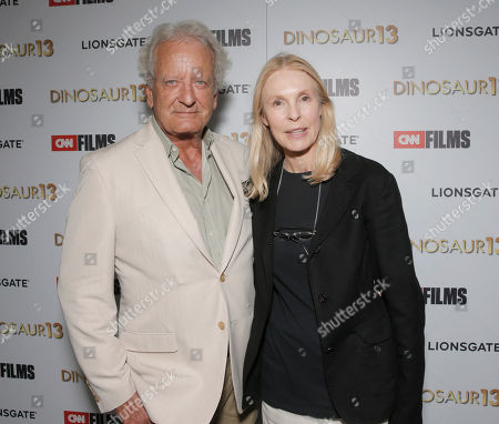 Nicolas Coster and Victoria Tennant attend the premiere of Lionsgate and CNN Films' 'Dinosaur 13' at the DGA Theater on in Los Angeles