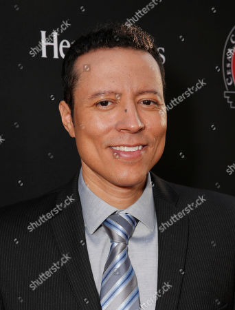 """Yancey Arias attends the Los Angeles premiere of Pantelion Films and Participant Media's """"Cesar Chavez"""" at the at the Chinese Theatre, in Los Angeles"""