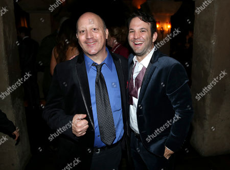 "Writer Ivan Raimi, left, and executive producer Craig DiGregorio attend the premiere of STARZ' ""Ash vs. Evil Dead"" at the TCL Chinese Theater, in Los Angeles"