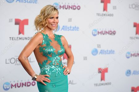 Editorial photo of Premios Tu Mundo Arrivals - , Miami, USA