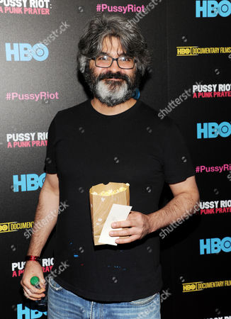 "Onur Tukel attends a special screening of ""Pussy Riot: A Punk Prayer"" hosted by HBO with The Cinema Society on in New York"