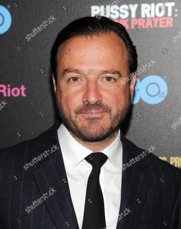 """Director Mike Lerner attends a special screening of """"Pussy Riot: A Punk Prayer"""" hosted by HBO with The Cinema Society on in New York"""