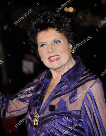 Stock Photo of Eunice Gayson arrives at the world premiere of Skyfall James Bond 007 at the Royal Albert Hall on in London
