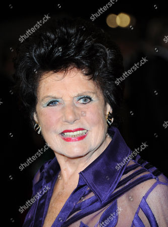 Eunice Gayson arrives at the world premiere of Skyfall James Bond 007 at the Royal Albert Hall on in London