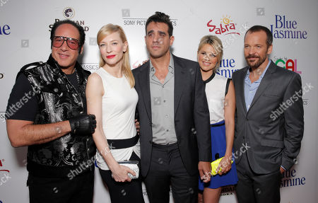 Andrew Dice Clay, Cate Blanchett, Bobby Cannavale, Ali Fedotowsky and Peter Sarsgaard arrive on the red carpet at Sony Pictures Classics LA premiere of Blue Jasmine presented by The One Group on in Los Angeles