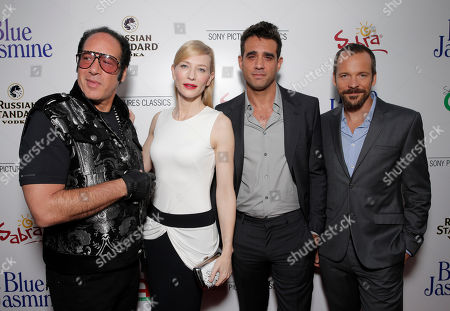 Andrew Dice Clay, Cate Blanchett, Bobby Cannavale, and Peter Sarsgaard arrive on the red carpet at Sony Pictures Classics LA premiere of Blue Jasmine presented by The One Group on in Los Angeles