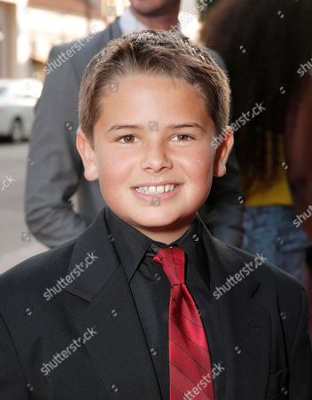 Stock Image of Max Rutherford arrives on the red carpet at Sony Pictures Classics LA premiere of Blue Jasmine presented by The One Group on in Los Angeles